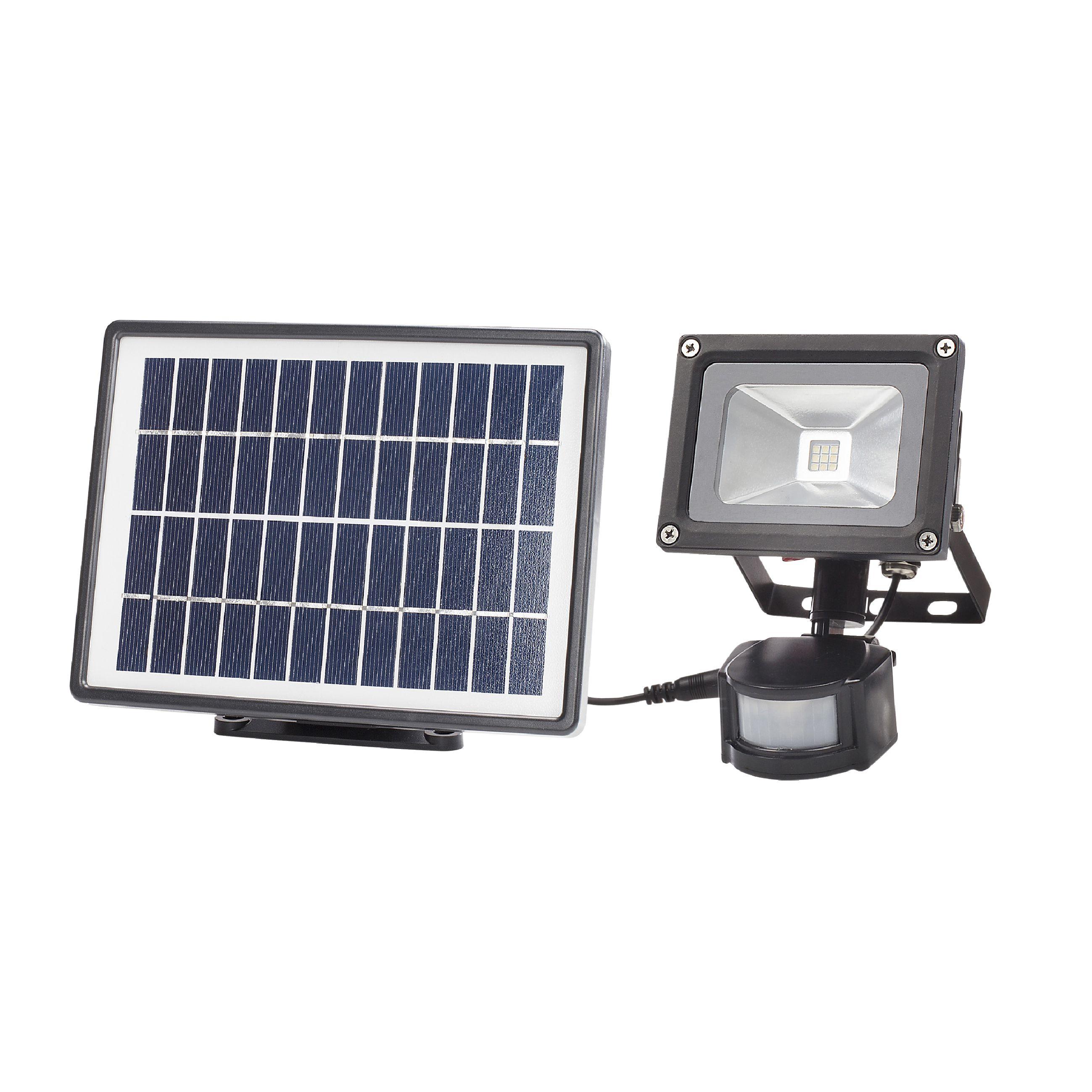Nástěnné LED svítidlo se solárním panelem, Ranex RA-1004814