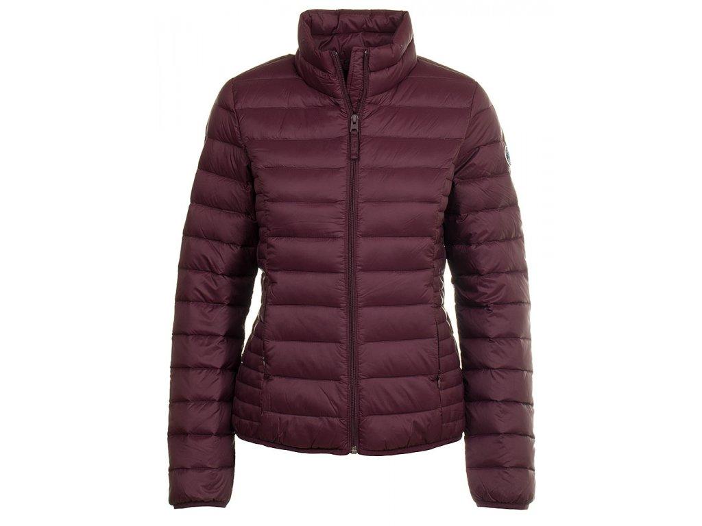 Abercrombie dámská péřová bunda fialová (Velikost S)