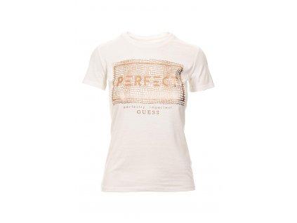 Guess Dámské tričko bílé (Velikost XS)