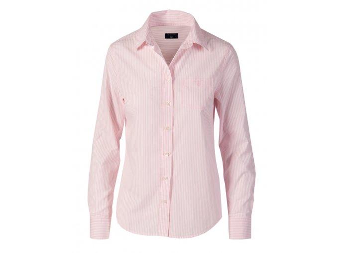 Gant dámská košile růžové proužky G17 (Velikost EU 34)