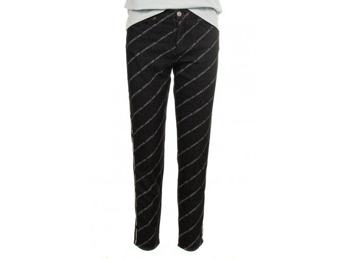 Karl Lagerfeld dámské džíny černé (Velikost EU 28)