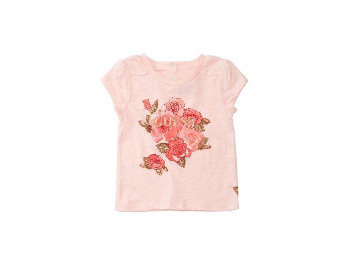 GU71 Guess dětské tričko růžové