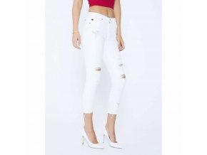 KanCan Sharon Athena Bílé Skinny Jeans džíny (Velikost EU 25)