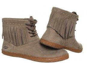 UGG7 dámské boty šedé(3)