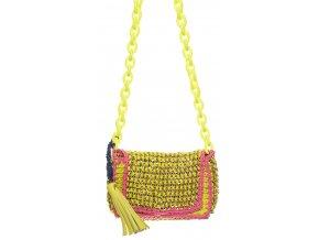 Replay dámská kabelka žlutorůžová (Velikost one size)