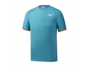 Tenisové triko Shadow Tee  - Peacock, Mazarine Blue