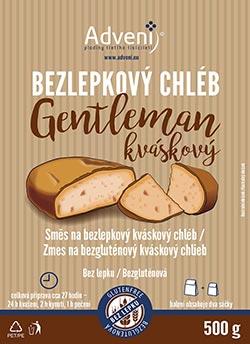 Gentleman - směs na bezlepkový KVÁSKOVÝ chléb!