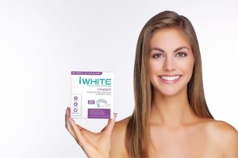 Zářivý úsměv snadno a bezpečně s výrobky iWhite Instant!