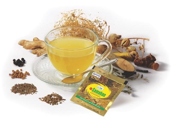 Indický přírodní čaj Samahan