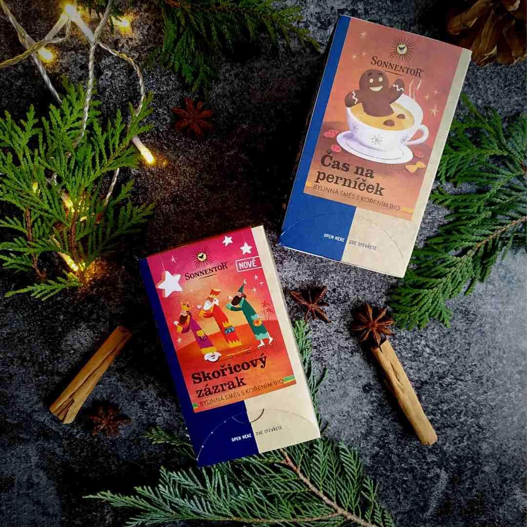 Vychutnejte si Vánoční čaje