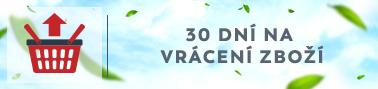 30 dní na vrácení zboží