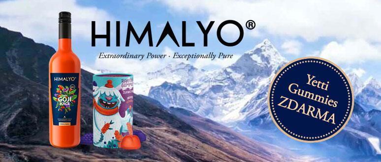 HIMALYO 100% Goji Juice BIO 750 ml + YETTI Gummies ZDARMA