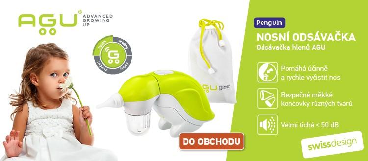 AGU Smart Nosní odsávačka hlenů elektrická