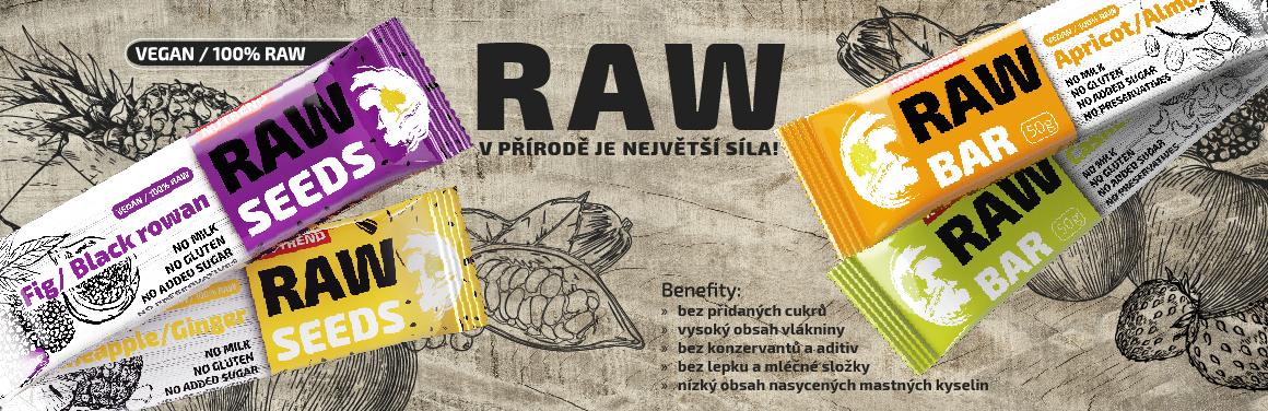 RAW BAR - V přírodě je největší síla.