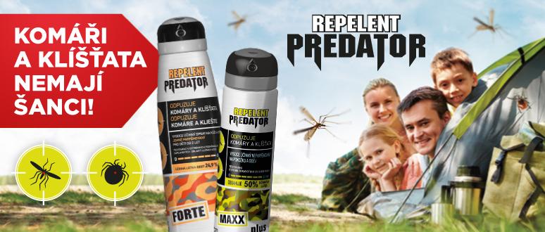 Komáří a klíšťata nemají šanci!