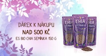 Dárek k nákupu nad 500 Kč - BIO Chia semínka 150 g