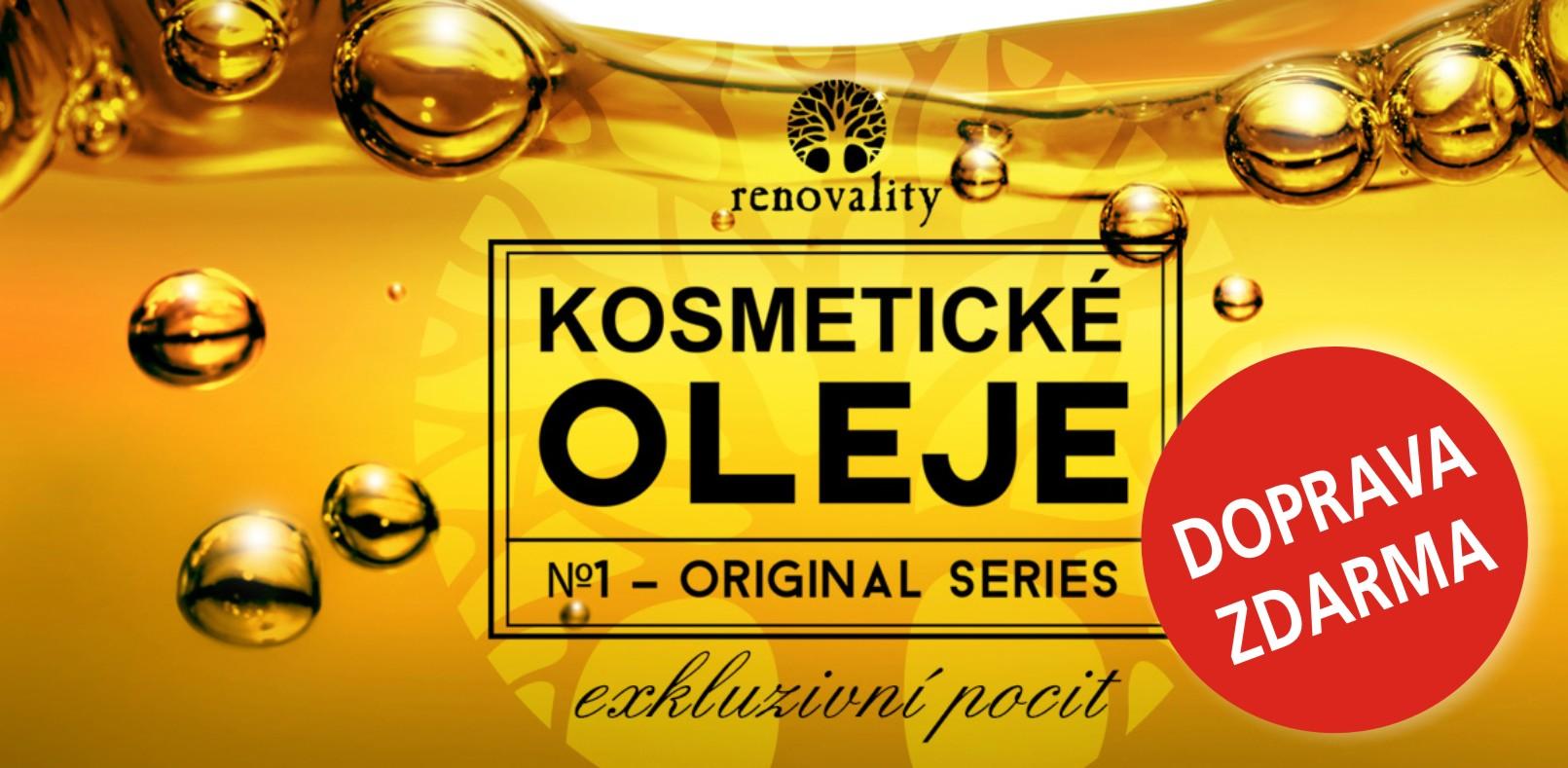 Renovality - kosmetické oleje - Zažijte exkluzivní pocit!