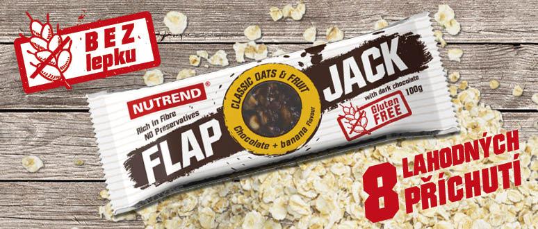 Flapjack = dokonalé spojení ovesných vloček, oříšků a sušeného ovoce