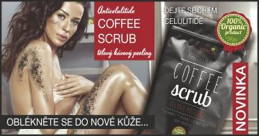 Coffee Scrub - dejte sbohem celulitidě!
