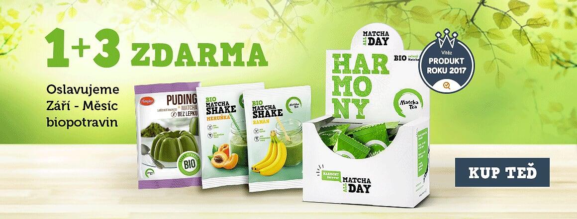 Oslavte s námi měsíc biopotravin skvělým balíčkem 1+3 ZDARMA