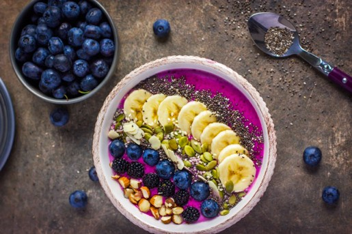 FIT-DAY smoothie bowl