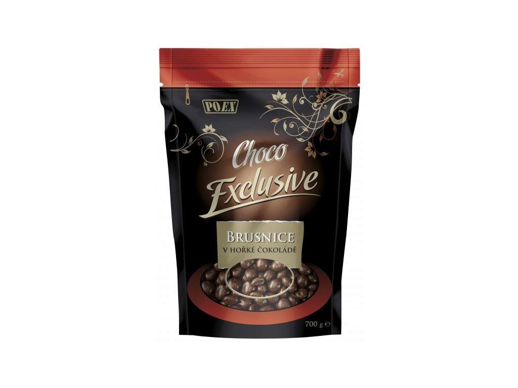 Brusinky v hořké čokoládě 700 g