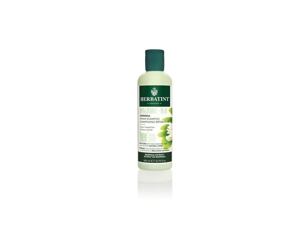 HERBATINT HERBATINT Moringa Repair Shampoo, bio šampon na barvené vlasy 260 ml