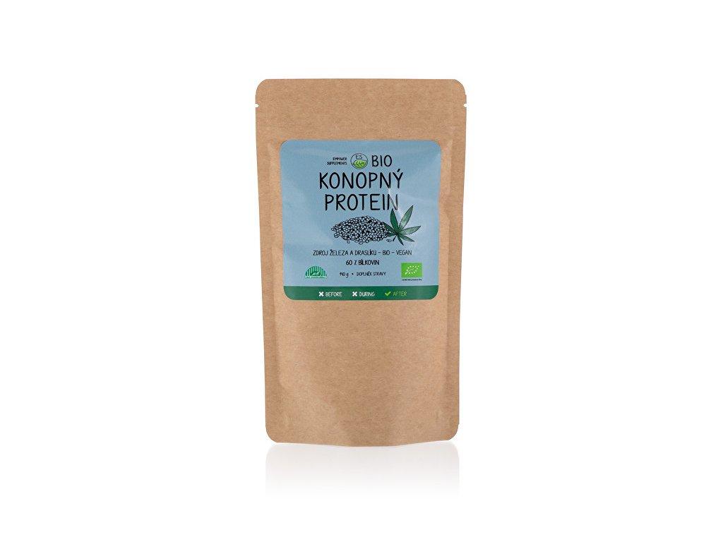 Empower Supplements Konopný protein BIO 140 g