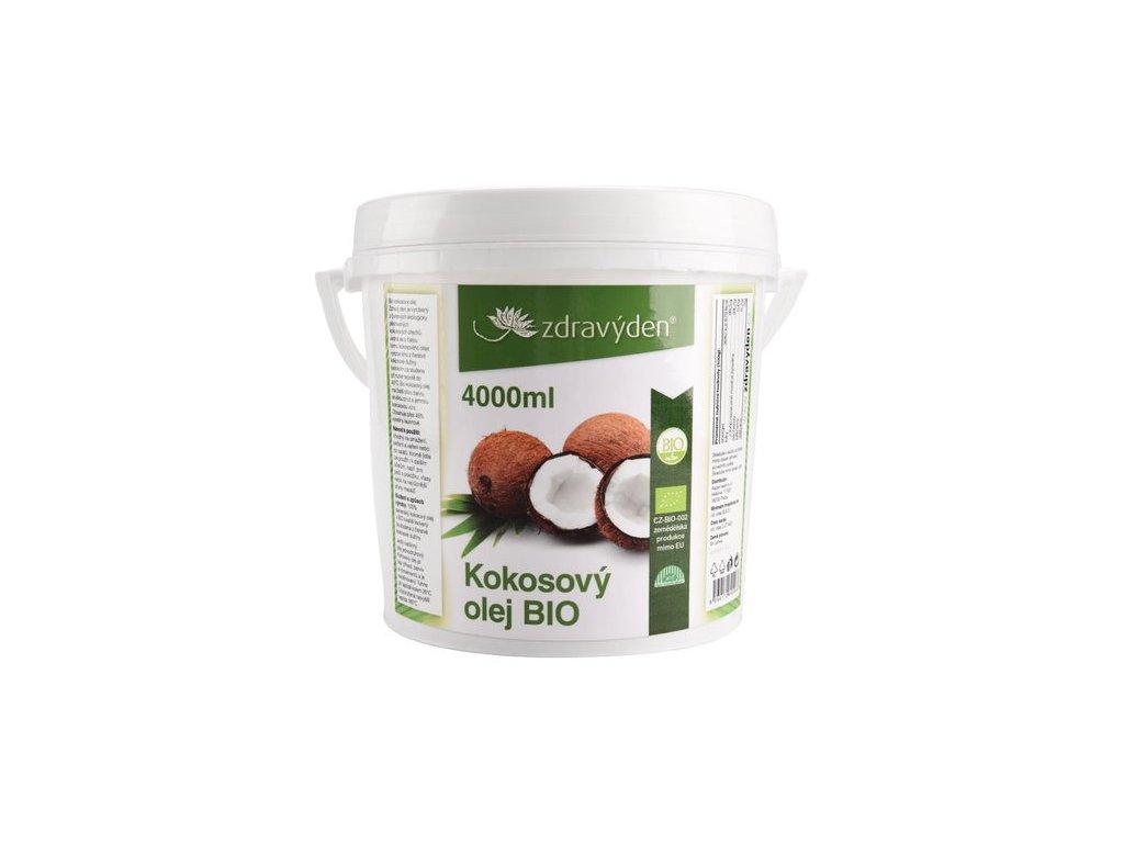 ZdravýDen® BIO Kokosový olej 4000 ml