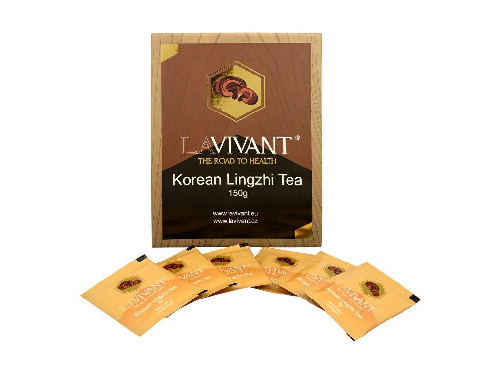 LAVIVANT Instantní čaj z reishi 50 ks