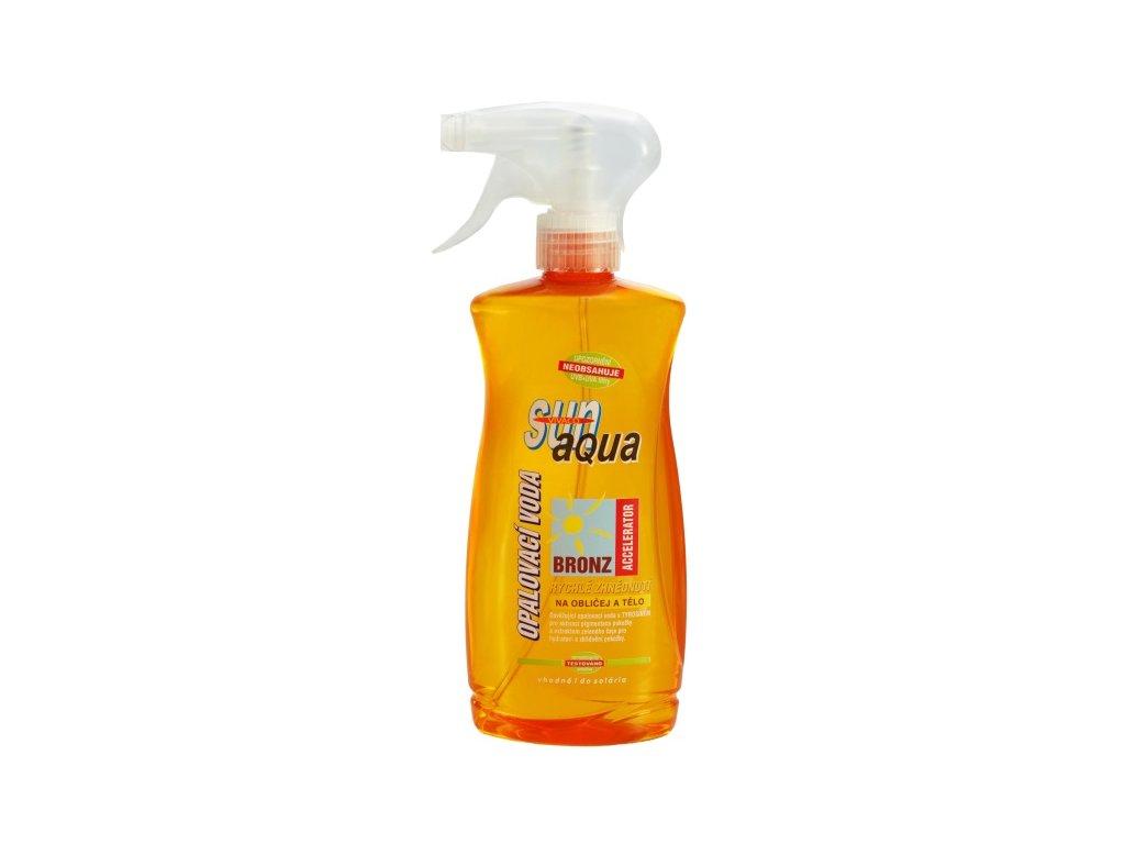 Vivaco Sun Aqua Opalovací voda s akcelerátorem SPF 0 500 ml