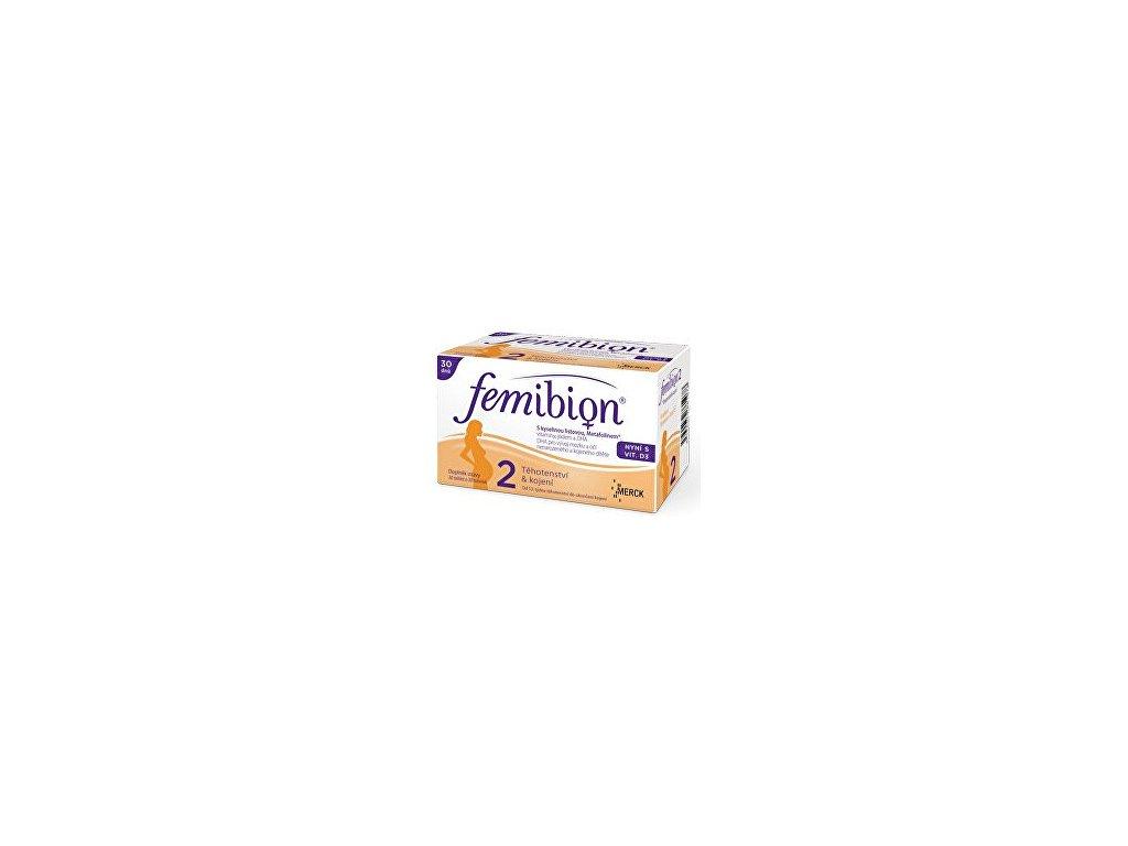 Merck Femibion 2 s vitamínem D3 30 tbl. + 30 tob.