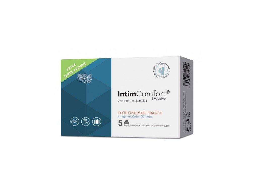 Intim Comfort Anti-intertrigo komplex vlhčené ubrousky