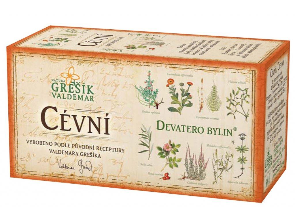 Grešík Cévní čaj n.s. 20x1.5g Devatero bylin