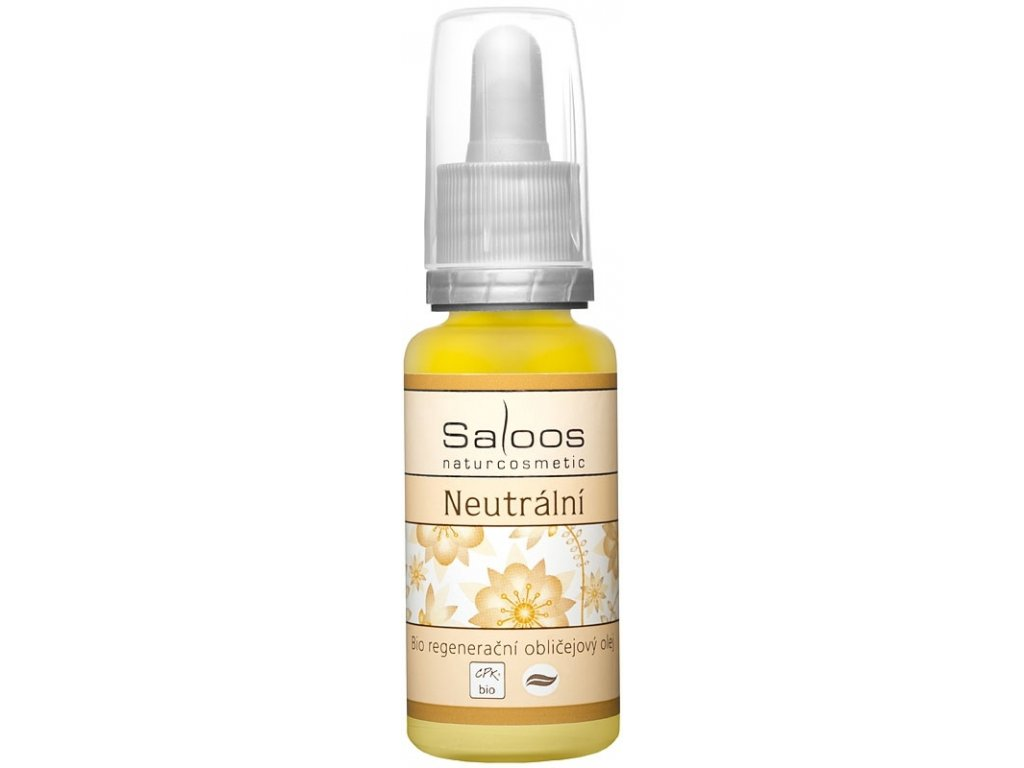 Saloos Bio Neutrální - regenerační obličejový olej