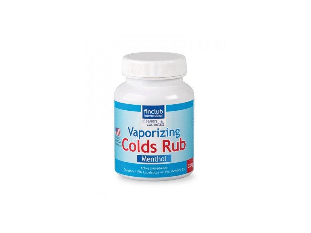 Finclub Vaporizing Colds Rub menthol - inhalační mast 125 g