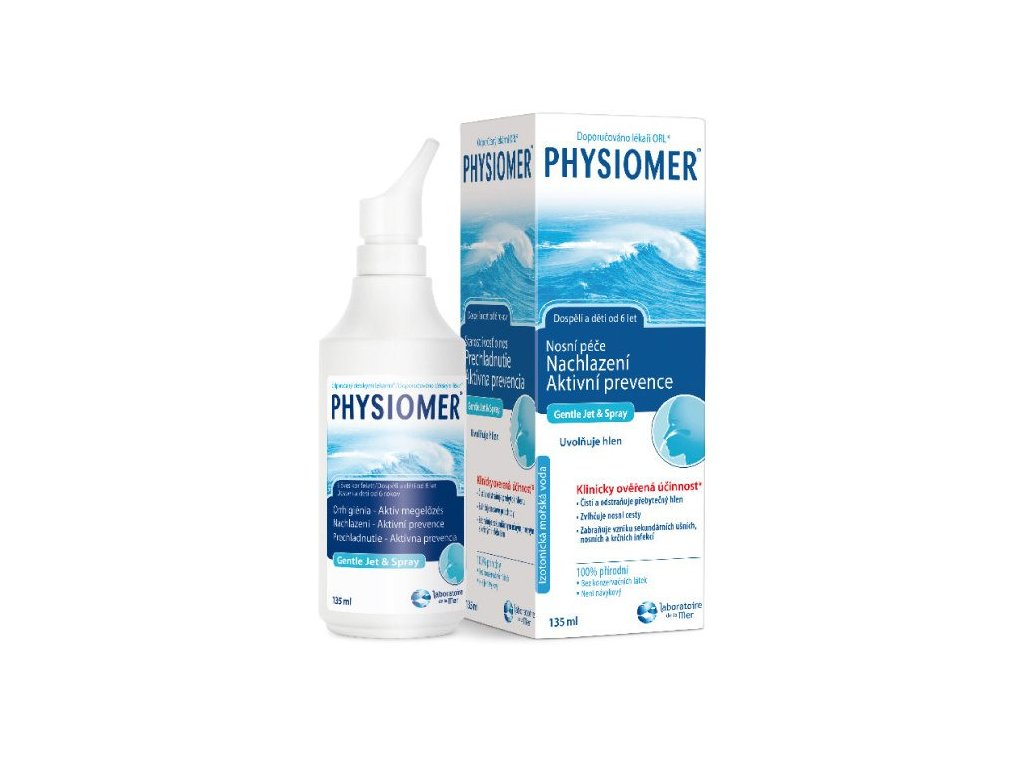 Physiomer Gentle Jet & Spray 135 ml