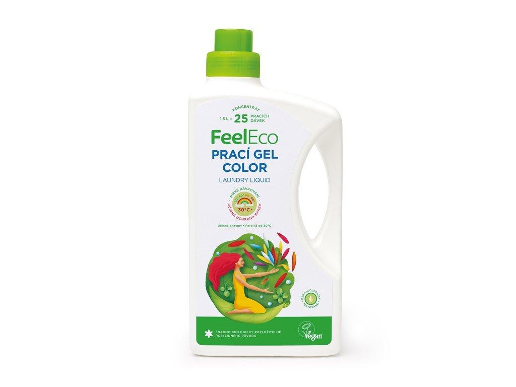 Feel Eco Prací gel Color na barevné prádlo 1,5 L