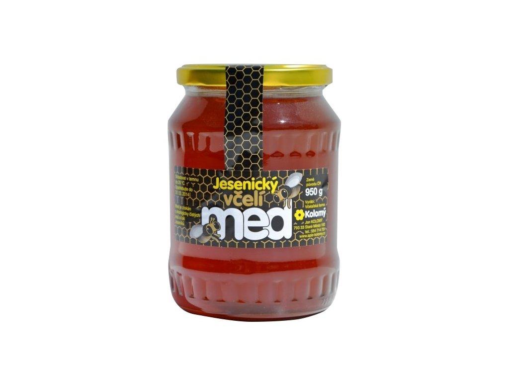 Kolomý Jesenický včelí med lipový 950 g