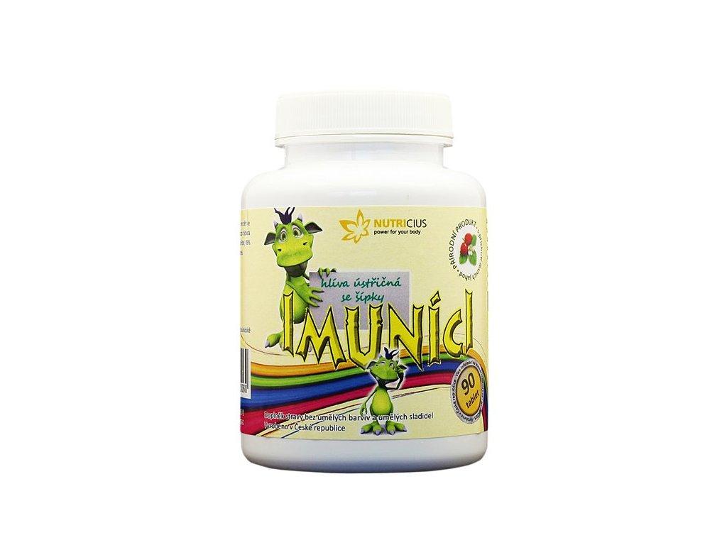 Nutricius Imunící - hlíva ústřičná se šípky 90 tbl.