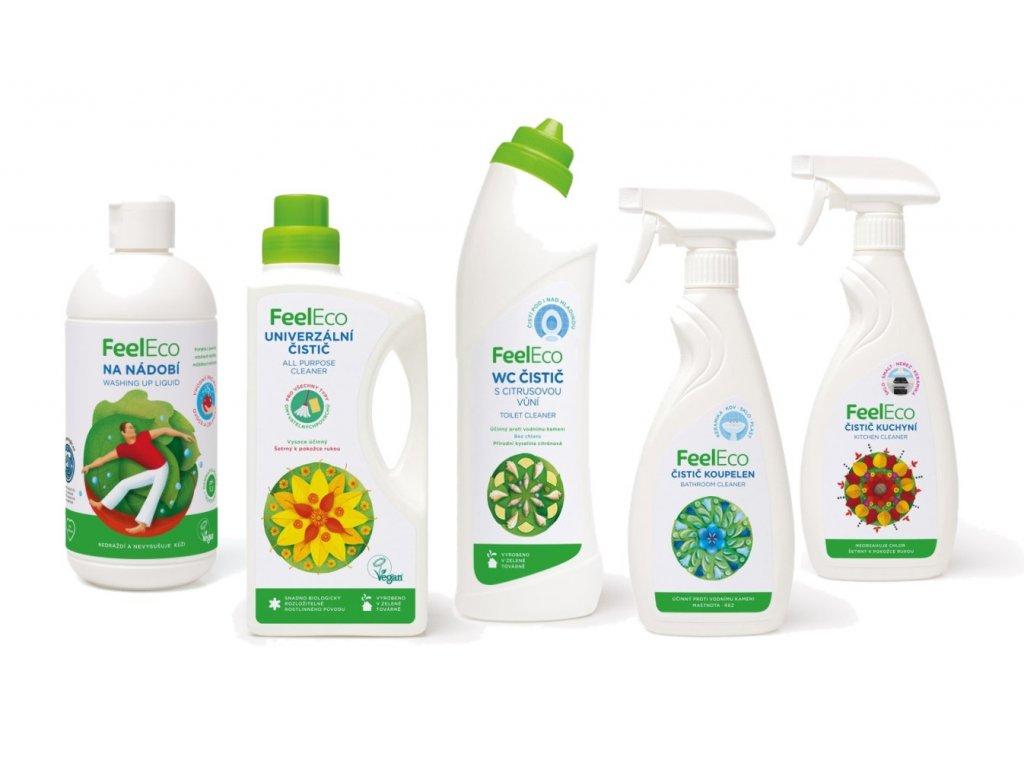 Feel Eco Vánoční balíček pro čistou domácnost