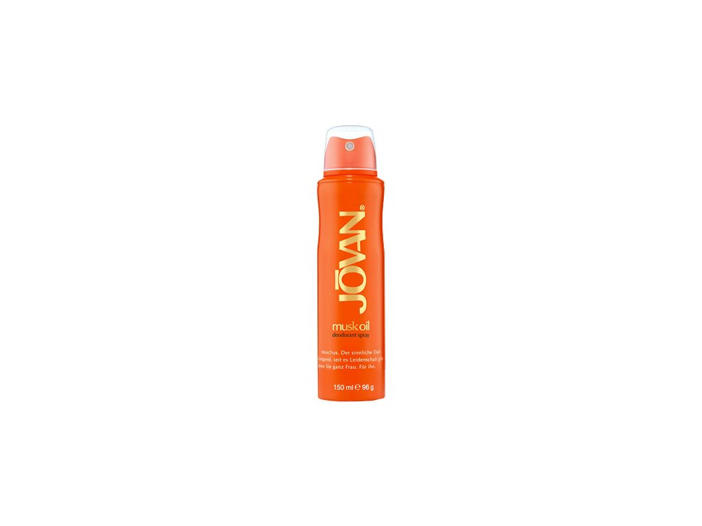 Jovan Musk Oil dámský deodorant spray 150 ml