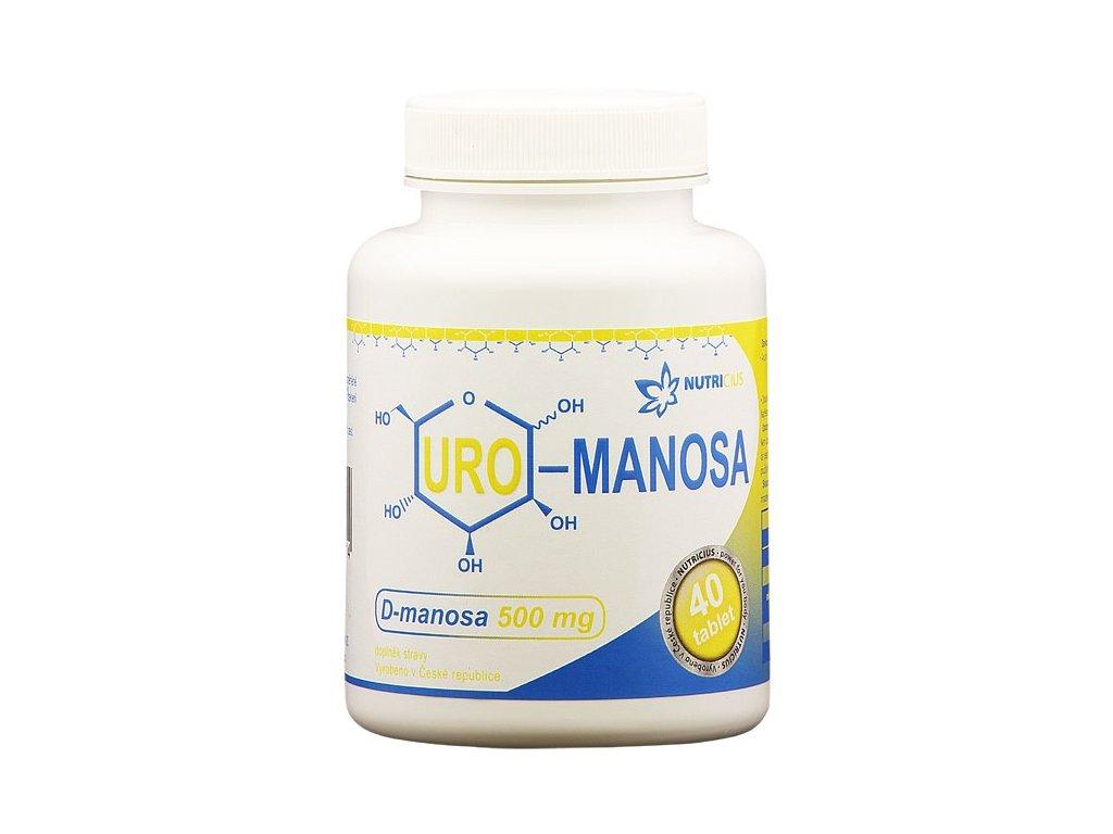 Nutricius URO – Manosa 40 tbl.