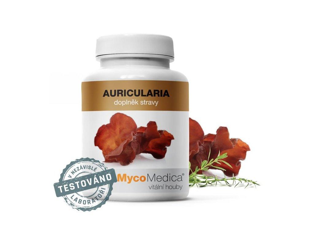 MycoMedica Auricularia 90 kapslí