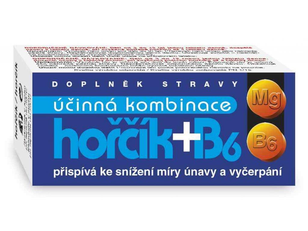 Naturvita Hořčík + B6 60 tbl.