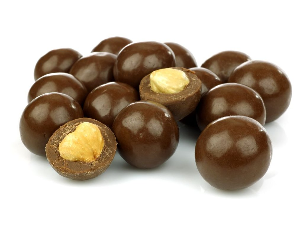 IBK Lísková jádra v mléčné čokoládě