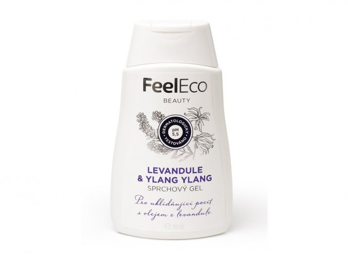 381 feel eco sprchovy gel levandule ylang ylang 300ml