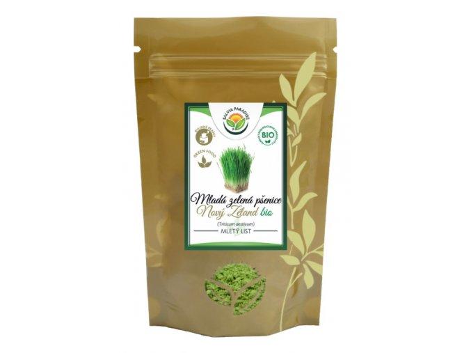 Mladá zelená pšenice BIO
