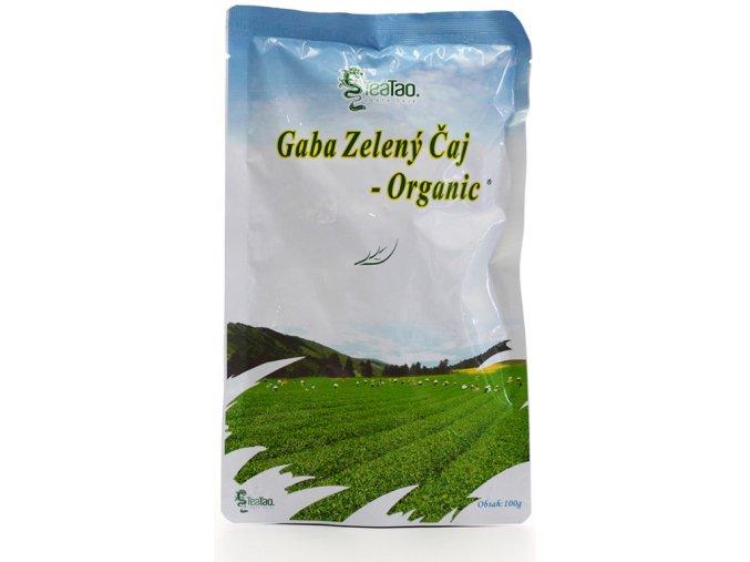 gaba zeleny caj organic 100g