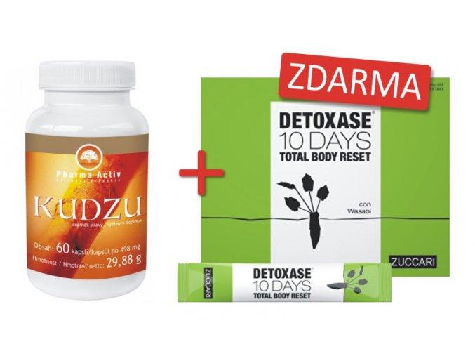 Kudzu+detoxase 10 days ZDARMA